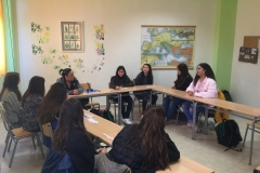 Discussion and interview with Mrs. Papakosta, a dermatologist from Katerini.